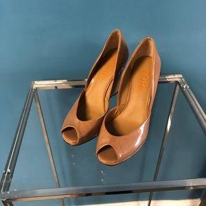 KORS Michael Kors Peep Toe Wedges / Heels